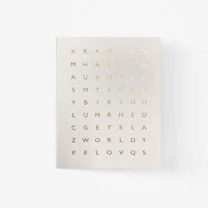 Christmas Crossword Card